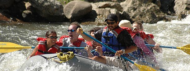 En rafting ou en canoë, descendez le Colorado !