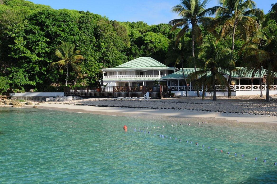 La plage Sainte Anne en Guadeloupe