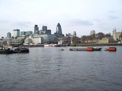 Les quais de la Tamise, Londres