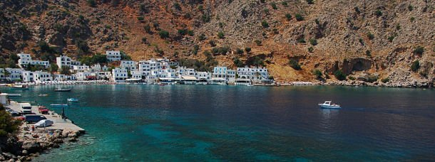 La Crète, côté Sud