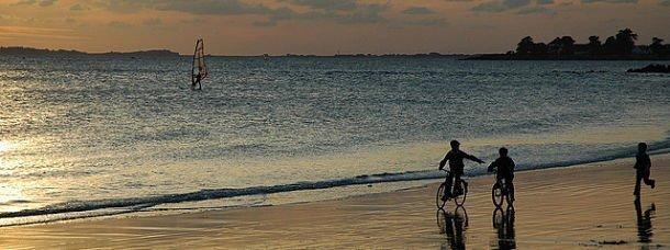 La Trinité sur mer, plage de Kervilen
