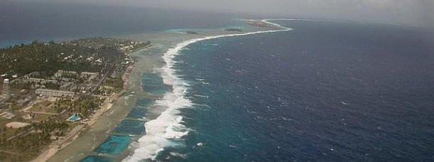 Le lagon de Kwajalein