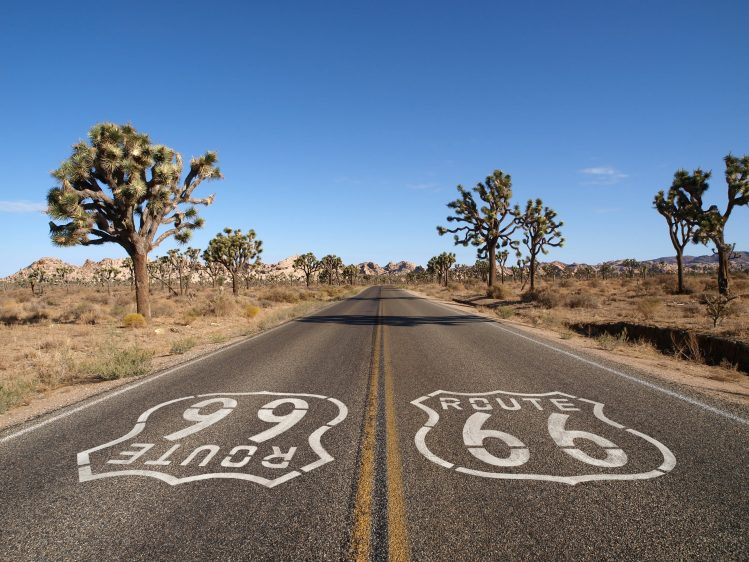 route 66 mythique