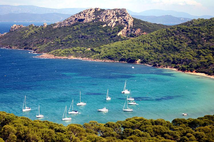 France plage Porquerolles