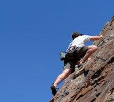 Faites de l'escalade dans les Alpilles