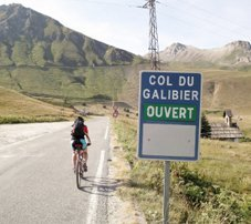 A l'assaut des cols alpins du tour de France !