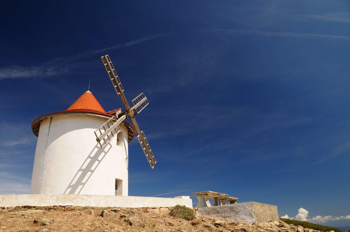 Le moulin à vent du Cap Corse, Corse