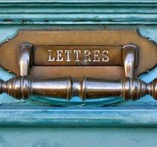 Le courrier en voyage