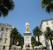 Ajaccio, sur les traces de Napoléon
