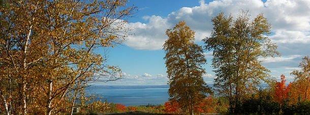 Québec, sur la route de Charlevoix