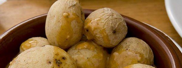 Les papas arrugadas: LE plat des Canaries