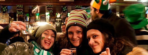 Fête de la Saint Patrick à Dublin