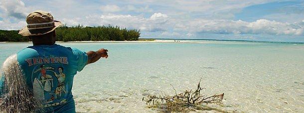 Nouvelle-Calédonie, dans le lagon