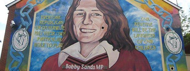 Bobby Sands sur les murs de Belfast