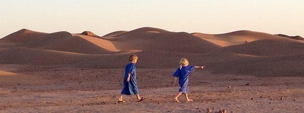 Maroc: aux confins de la vallée du Draa en famille
