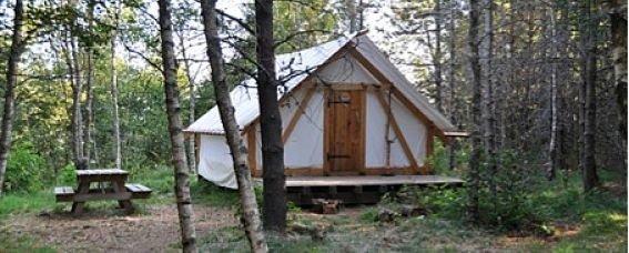 Camper en Auvergne