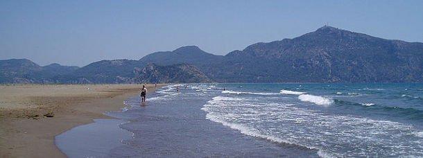 La plage de Dalyan