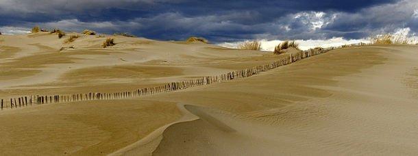 Les dunes de camargue