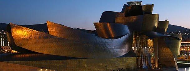 J'ai visité le musée Guggenheim de Bilbao