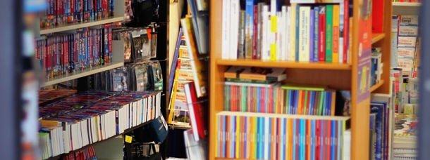 Rayon de librairie