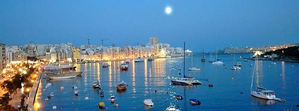 Malte au clair de lune