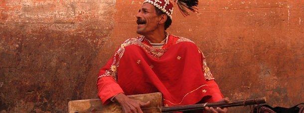 Marrakech est pleine de musiciens