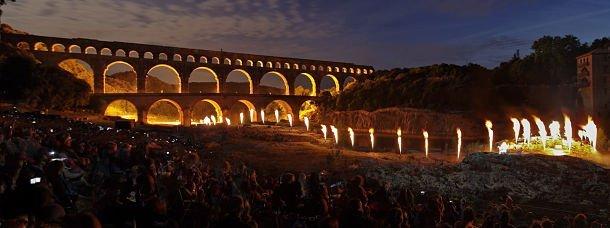 Les Fééries du Pont au Pont du Gard