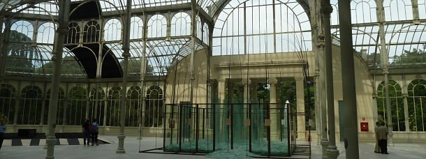 Le Palacio de Cristal, parc du Retiro