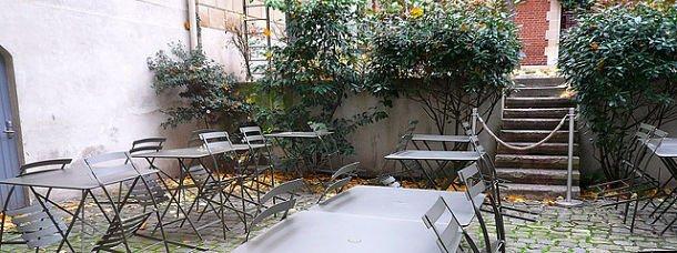 Bonpoint, terrasse secrète du quartier de l'Odéon