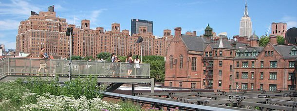 New York, la High Line