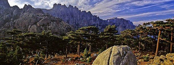 Massif de Bavella en Corse