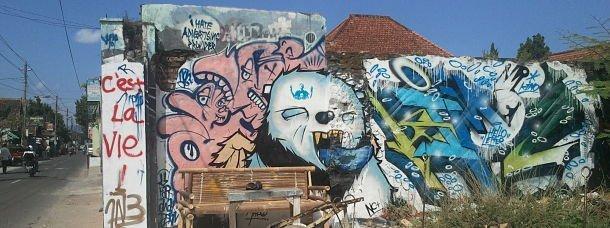 Street art, Yogyakarta