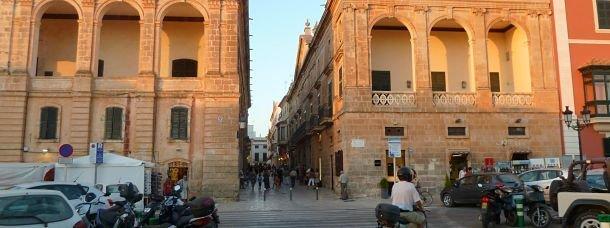 Coucher de soleil sur Ciutadella
