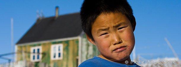 Enfant au Groenland
