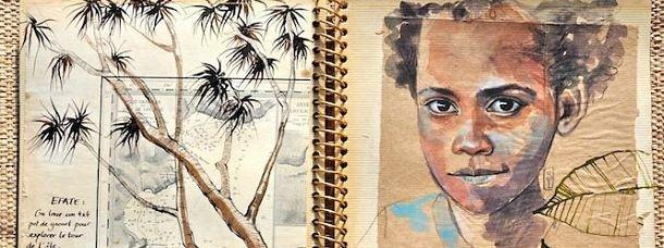 Détail d'un carnet Madagascar