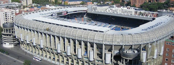 Le stade du Real Madrid