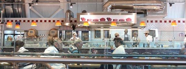 Eataly, un repas savoureux dans l'un des restaurants