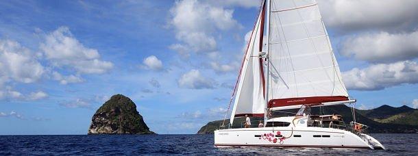 Vie d'expat, ép. 01: La Martinique sur un voilier