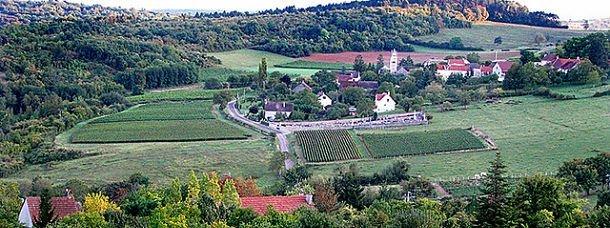 Le village de Beaune en Bourgogne