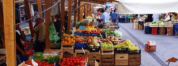 Trastevere, le marché rome