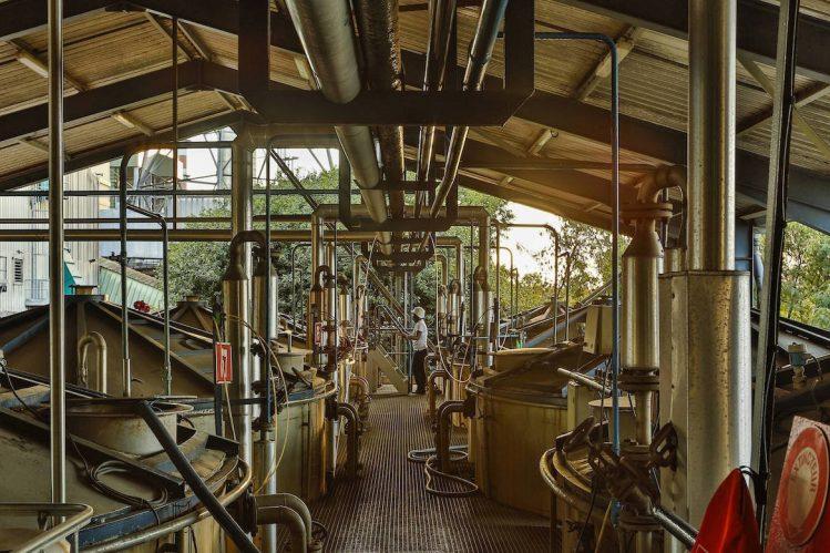 sucrerie de bois-rouge, La Réunion