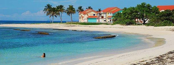 Baignade en Guadeloupe