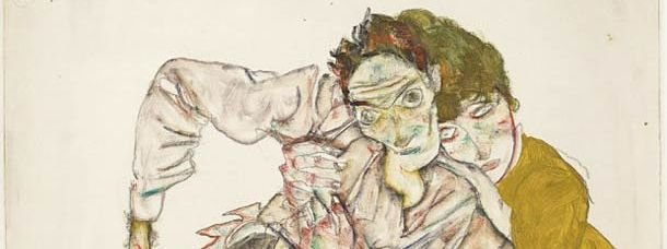 Dessin de Schiele de l'Albertina (détail)