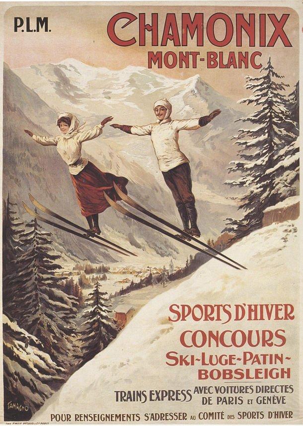 Affiche Chamonix