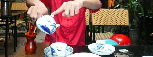 Thé vert au Vietnam