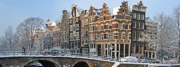 Vivez Amsterdam givrée cet hiver!