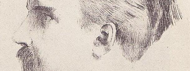 Portrait de Maurice Denis par Odilon Redon