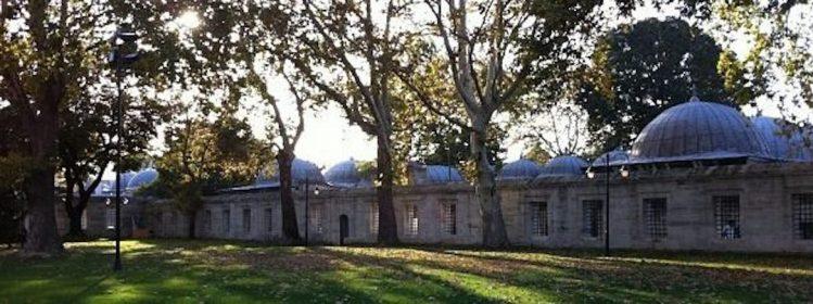 Jardin de la Suleymaniye istanbul mosquées hammams