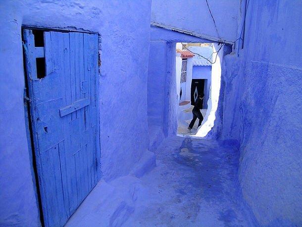 Les murs bleus de Chefchaouen © photo credit: Hugues