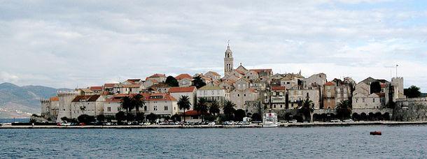 Korcula-croatie